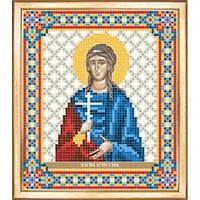 Схема для вышивки бисером СБИ-073. ИКОНА СВЯТАЯ МУЧЕНИЦА ХРИСТИНА
