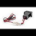 Автомобільний USB роз'єм CARAV Nissan (17-306), фото 3
