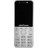 """Мобильный телефон Ulefone A1 Dual Sim Silver (6985754584560); 2.4"""" (320x240) IPS / клавиатурный моноблок / MediaTek MT6261M / ОЗУ 24 МБ / 32 МБ"""