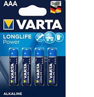 Батарейка Varta Longlife Power 4903 (High Energy) AAA/LR03 BL 4шт
