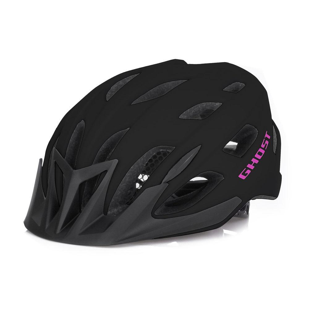 Шлем Ghost Classic blk/fu-pnk - 53 - 58см