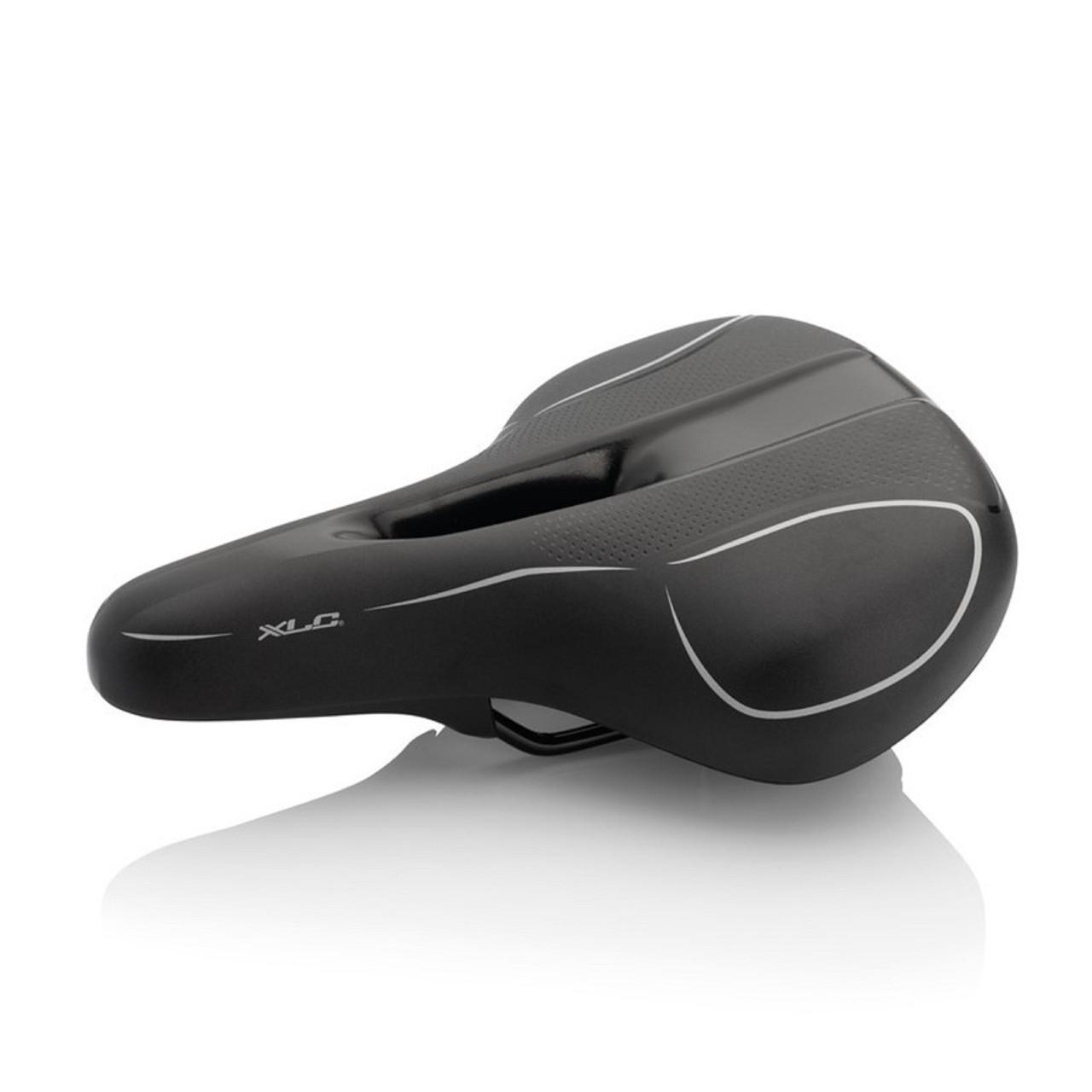 Седло XLC SA-T10 City/Urban, черное, мужское, 275x210mm,  710гр.