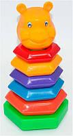 Пирамида качалка M-Toys Медведь SKL11-181481