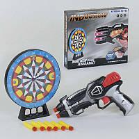 Пистолет с мишенью со световыми и звуковыми эффектами SKL11-185556