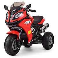 Детский электромобиль Мотоцикл BMW, M 3913EL-3 красный