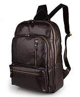 Рюкзак кожаный TIDING BAG 7313Q