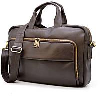 Кожаная сумка для делового мужчины GC-7334-3md бренда TARWA