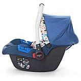 Дитяче автокрісло-бебикокон, автолюлька для новонароджених група 0+ (0-13кг) El Camino Newborn., фото 3