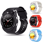 Розумні годинник Smart Watch V8 спортивний стиль смарт годинник смарт вотч чорний колір Розумний годинник + ПОДАРУНОК, фото 3