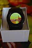 Розумні годинник Smart Watch V8 спортивний стиль смарт годинник смарт вотч чорний колір Розумний годинник + ПОДАРУНОК, фото 5