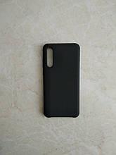Original Silicone Case для Huawei P20 PRO. Силиконовый чехол с микрофиброй для хуавей П 20 ПРО черный