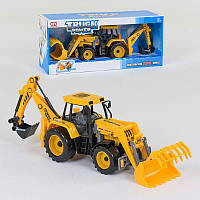 Трактор инерционный , подвижный ковш и лопата SKL11-223927
