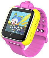 Смарт-часы UWatch Q200 Kid smart watch Pink