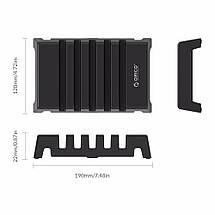 Универсальная настольная подставка держатель для телефонов и планшетов на 5 слотов Orico DK305, фото 3