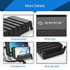 Универсальная настольная подставка держатель для телефонов и планшетов на 5 слотов Orico DK305, фото 6
