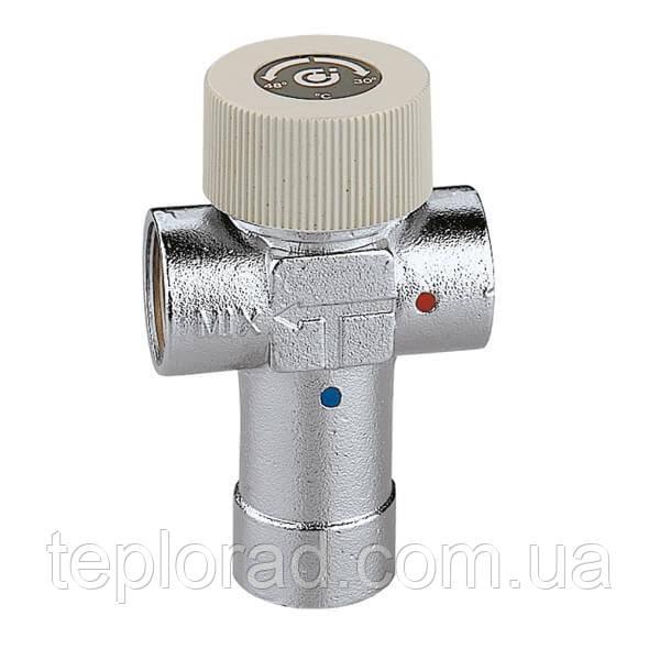 Регулируемый термостатический смеситель Caleffi 1/2 30-48°C (520430)
