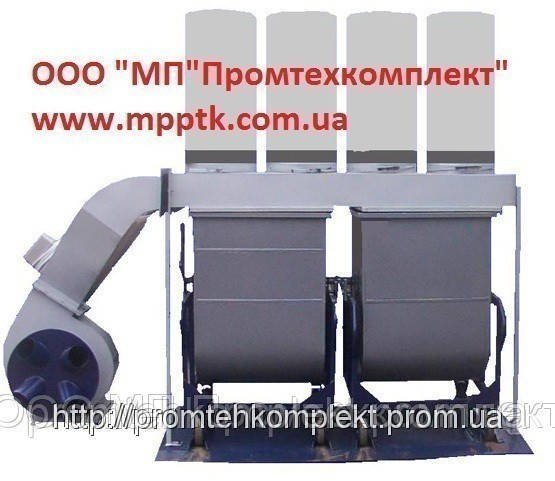 Стружкопылесос контейнерного типа ВД 5-2к - ООО МП Промтехкомплект в Харькове