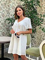 Платье из прошвы для беременных и кормящих, фото 1