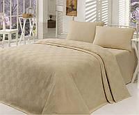 Покрывало - летнее одеяло двухспальное ТМ Eponj Home Турция - 200х235 см 100% хлопок