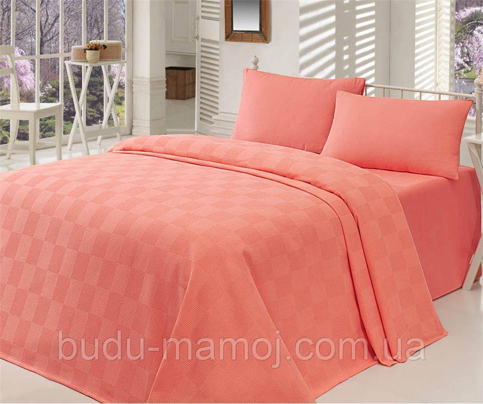 Покривало - літній ковдру двоспальне ТМ Eponj Home Туреччина - 200х235 см 100% бавовна