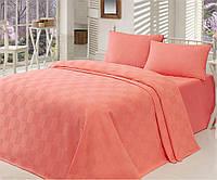 Покривало - літній ковдру двоспальне ТМ Eponj Home Туреччина - 200х235 см 100% бавовна, фото 1
