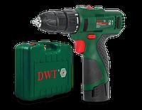 Аккумуляторный шуруповерт DWT ABS-12 СLi-2 BMC АККУМУЛЯТОР САМСУНГ. Оригинал. Гарантия+сервис!