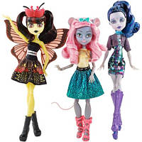 Набор кукол Элль Иди, Мауседес Кинг,  Луна Мотьюс Бу Йорк (Monster High Boo York Boo York Character Doll)
