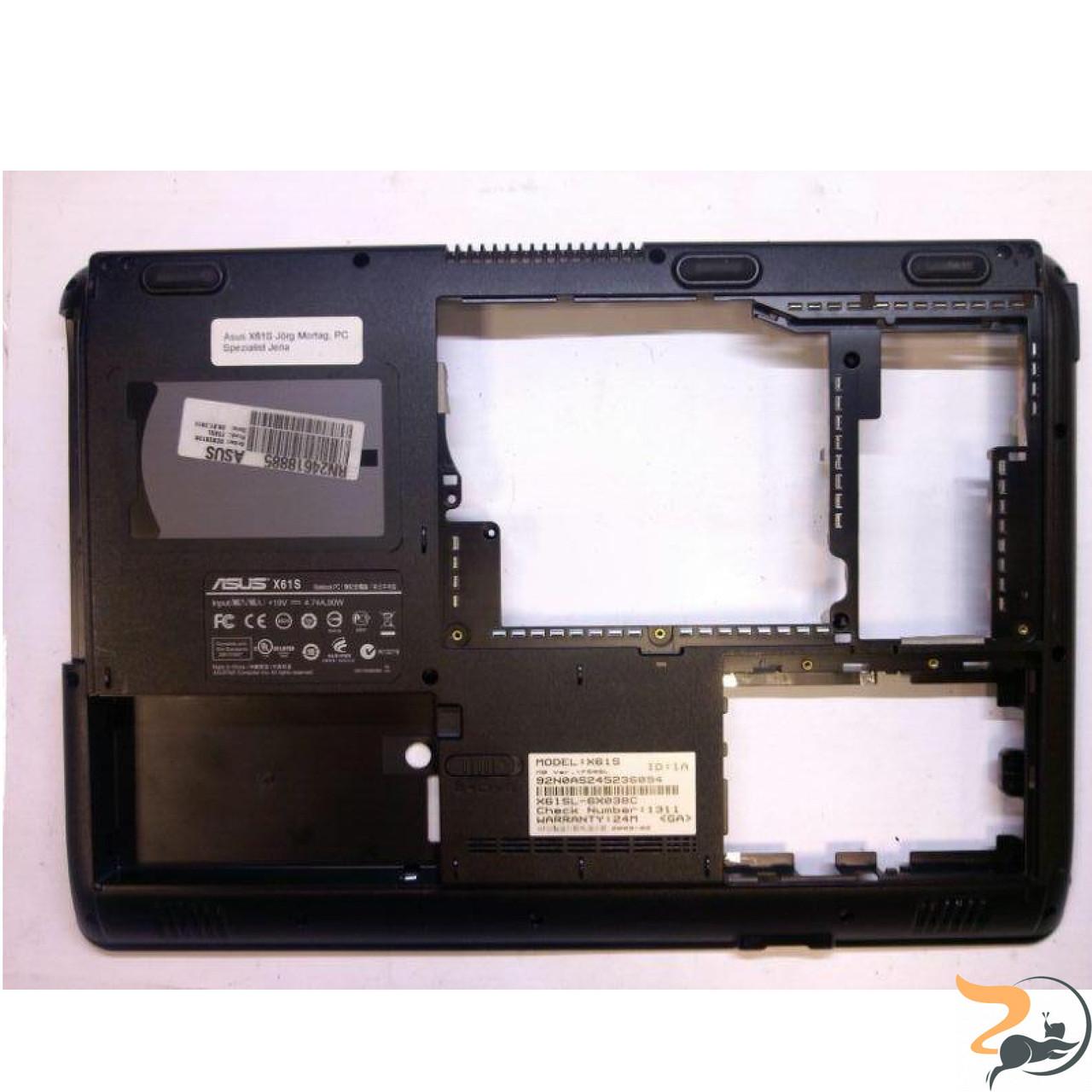 Нижня частина корпуса для ноутбука Asus X61SL-6X038C, 13N0-BTA0101, Б/В
