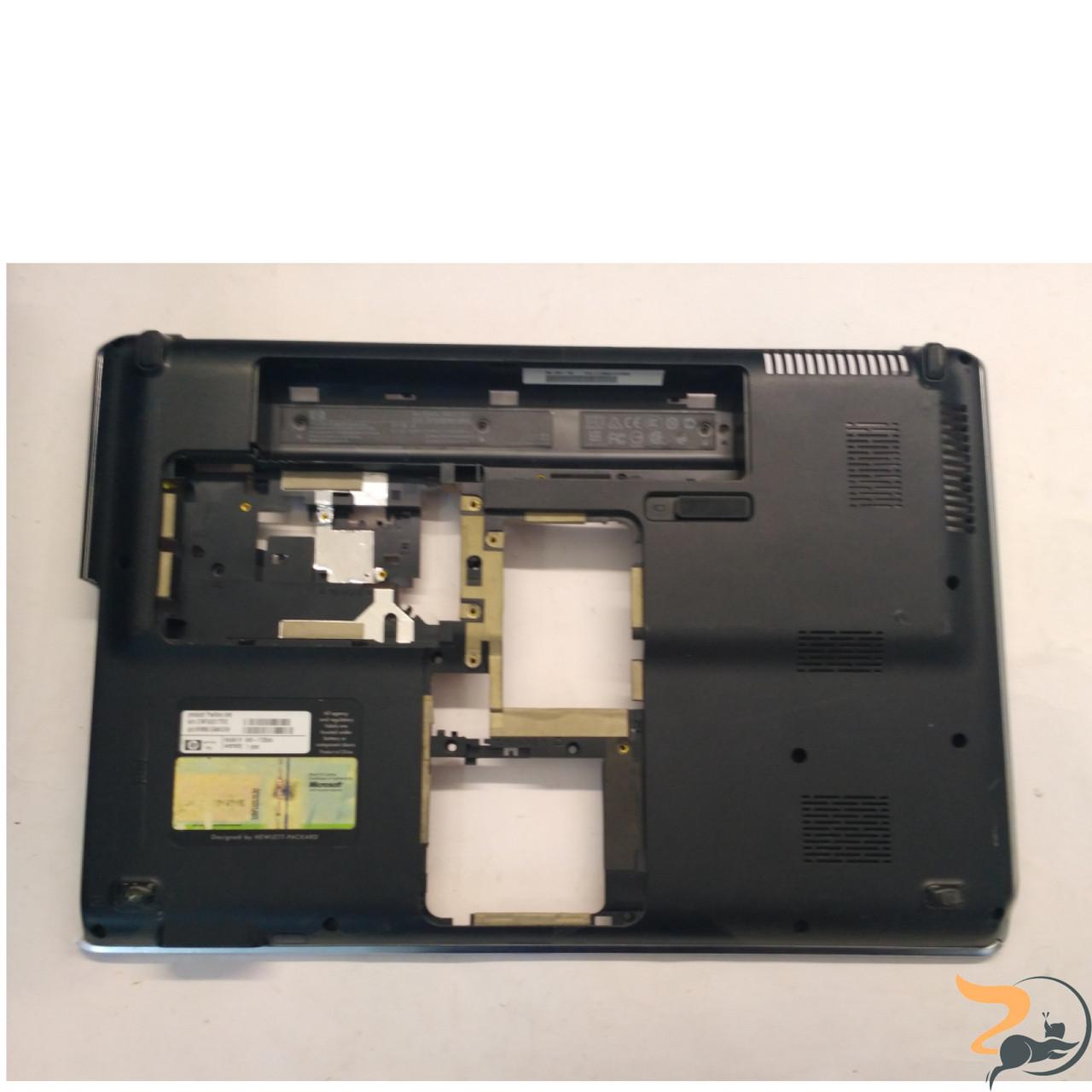 """Нижня частина корпусу для ноутбука HP Pavilion dv6-1125eo, 15.6"""", 532737-001, Б/В. Всі кріплення цілі.Без пошкоджень"""