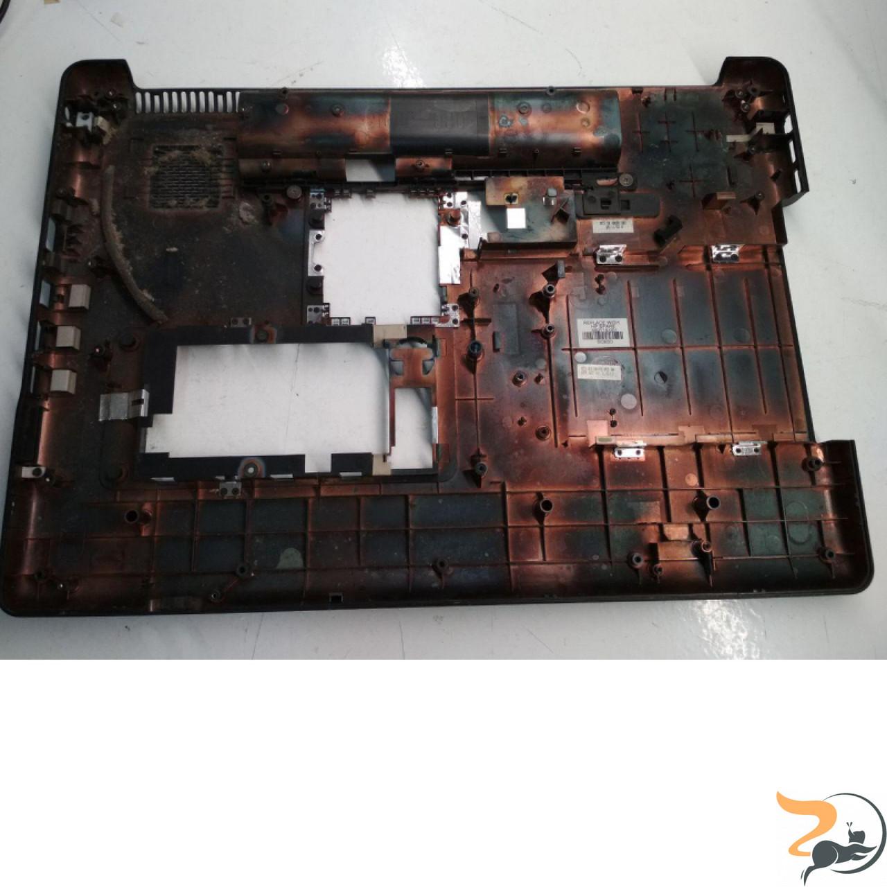 """Нижня частина корпусу для ноутбука HP Presario CQ70, 17.0"""", 489114-001, Б/В"""