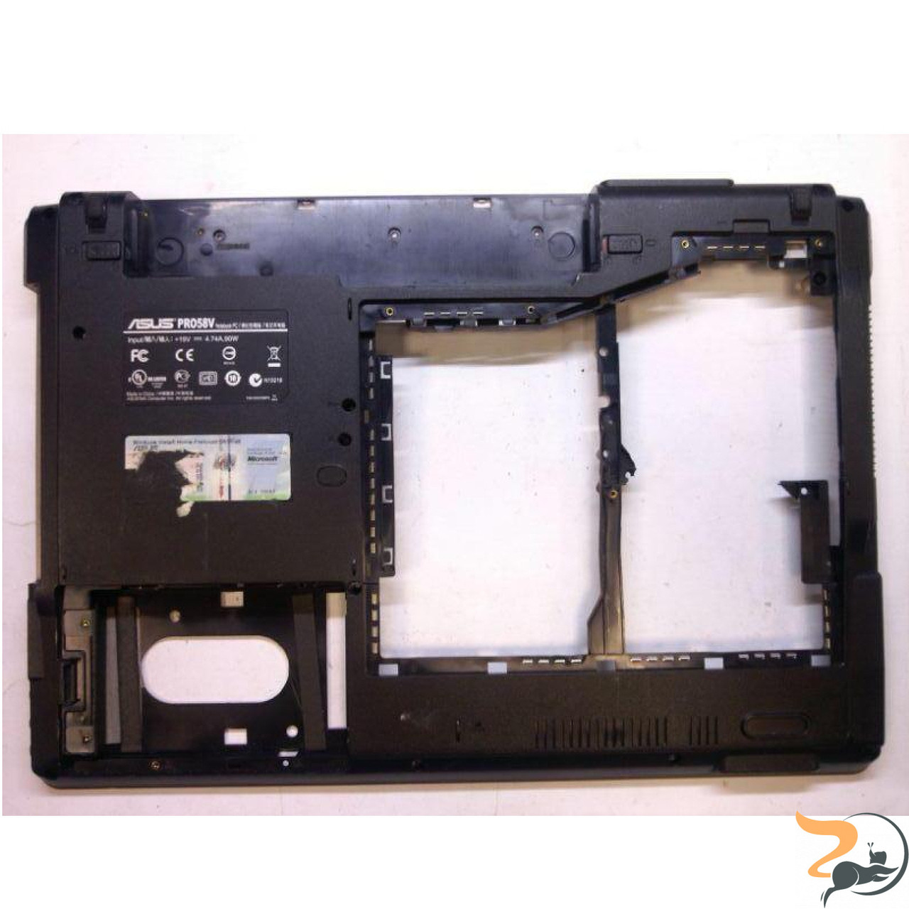 Нижня частина корпуса для ноутбука Asus PRO58V, 13GNED10P15X, Б/В