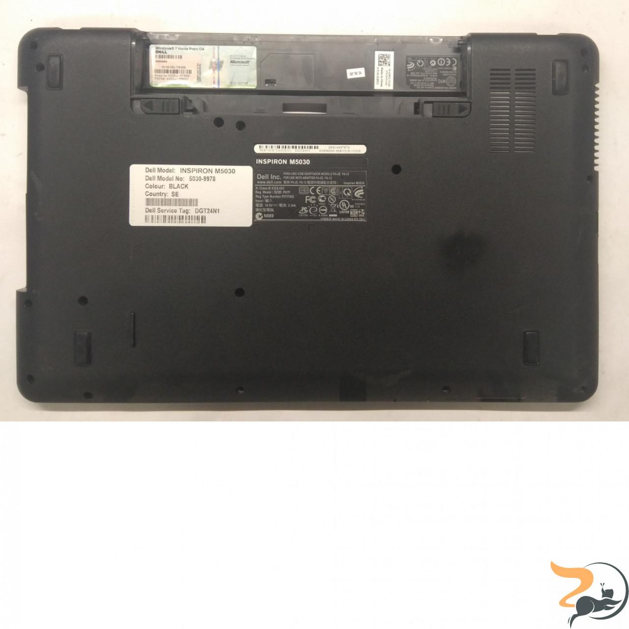 """Нижня частина корпуса для ноутбука Dell Inspiron 5030, 15.6"""", CN-0X4WW9, Б/В"""