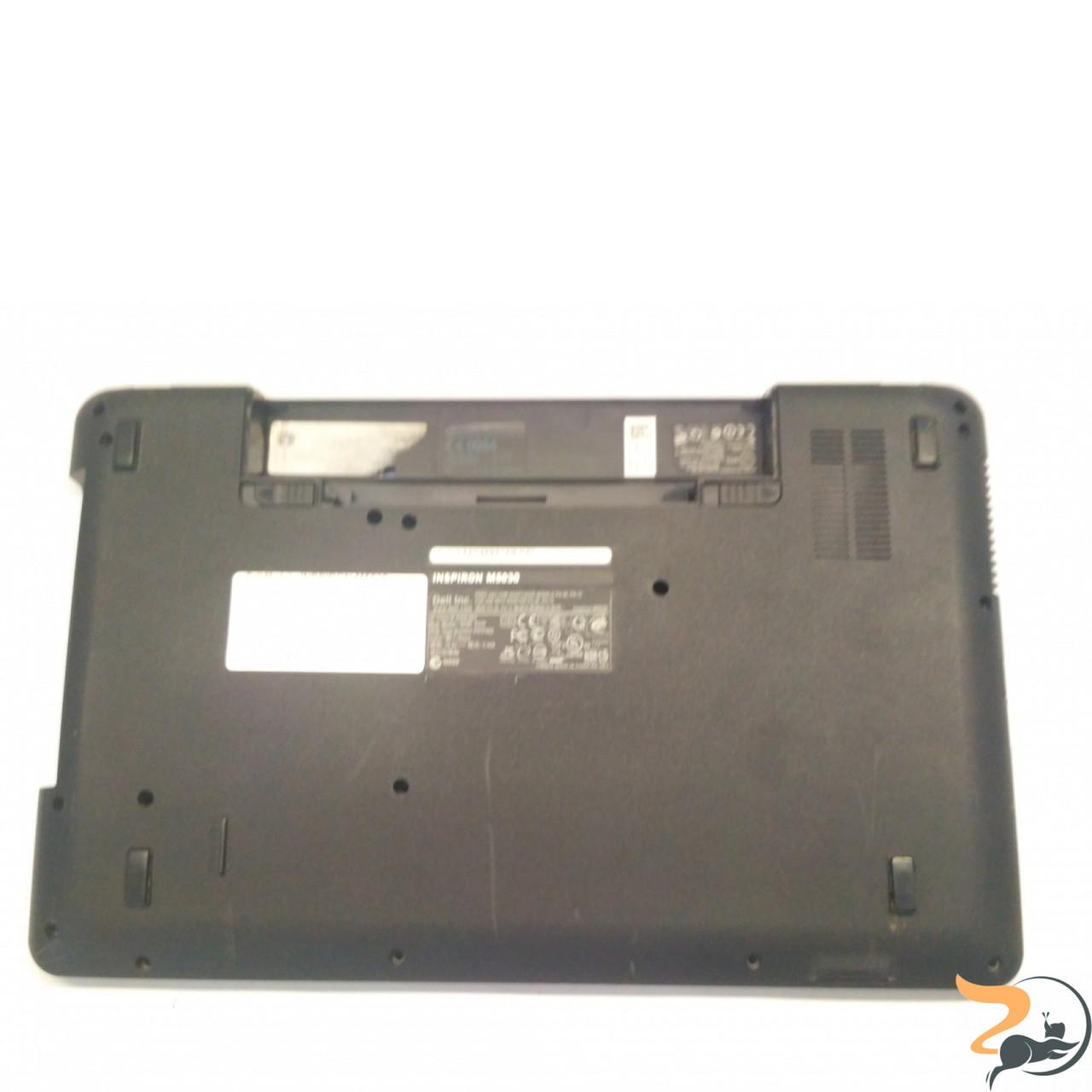 """Нижня частина корпуса для ноутбука Dell Inspiron M5030, 15.6"""", 60.4EM24.002, Б/В. Всі кріплення цілі.Без пошкоджень."""