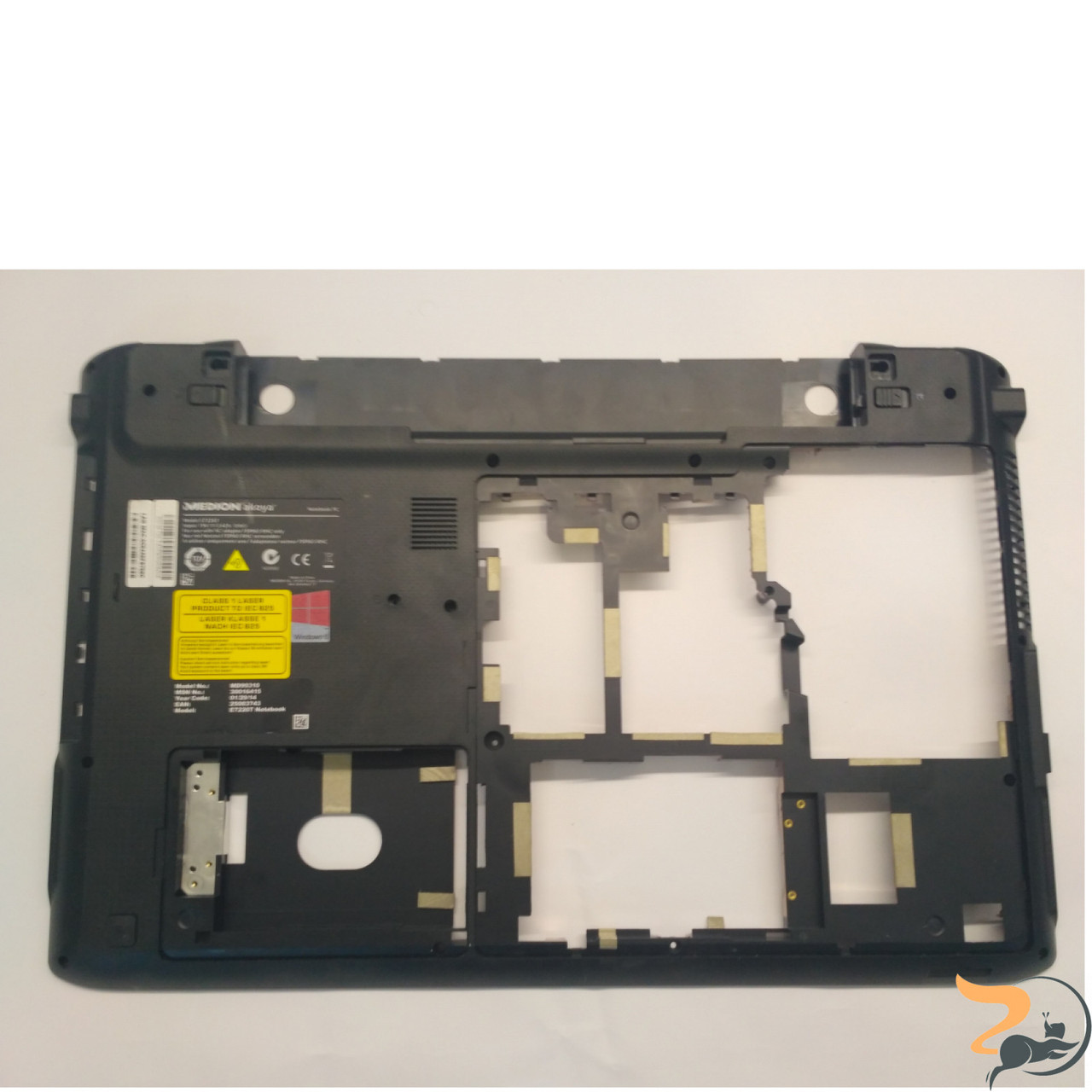 """Нижня частина корпуса для ноутбука Medion E7226T, 17.3"""", 13N0-BNA1301, Б/В"""