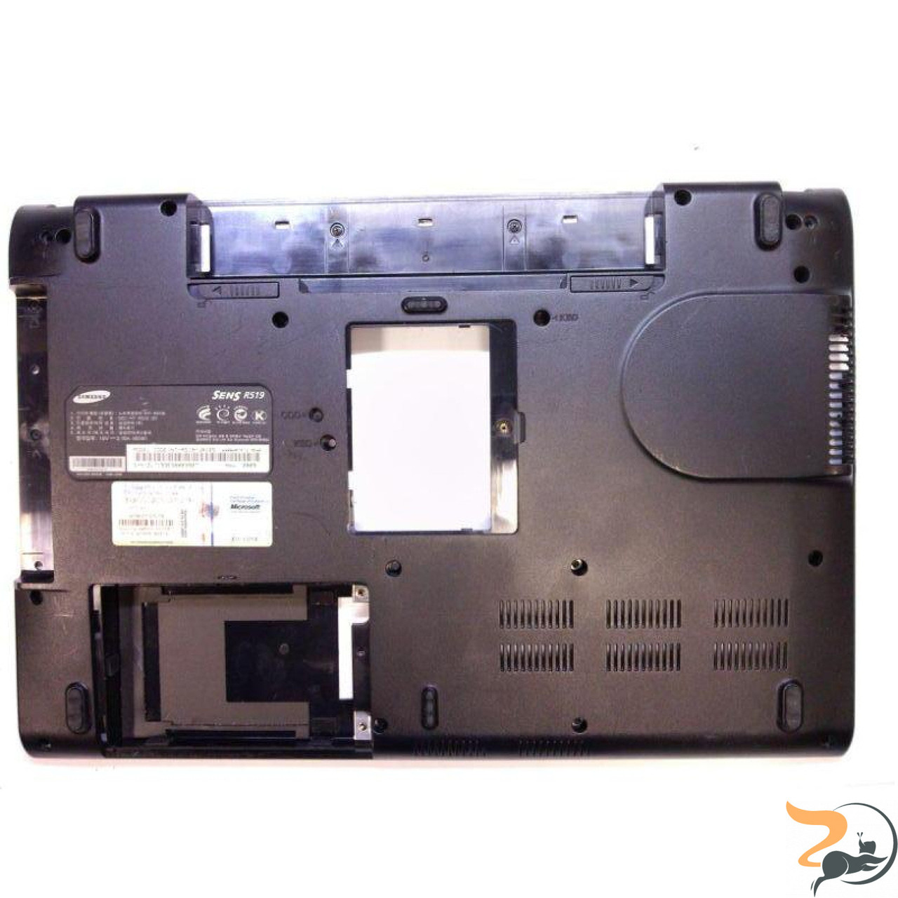 Нижня частина корпусу для ноутбука Samsung R19, BA81-07283A, Б/В.