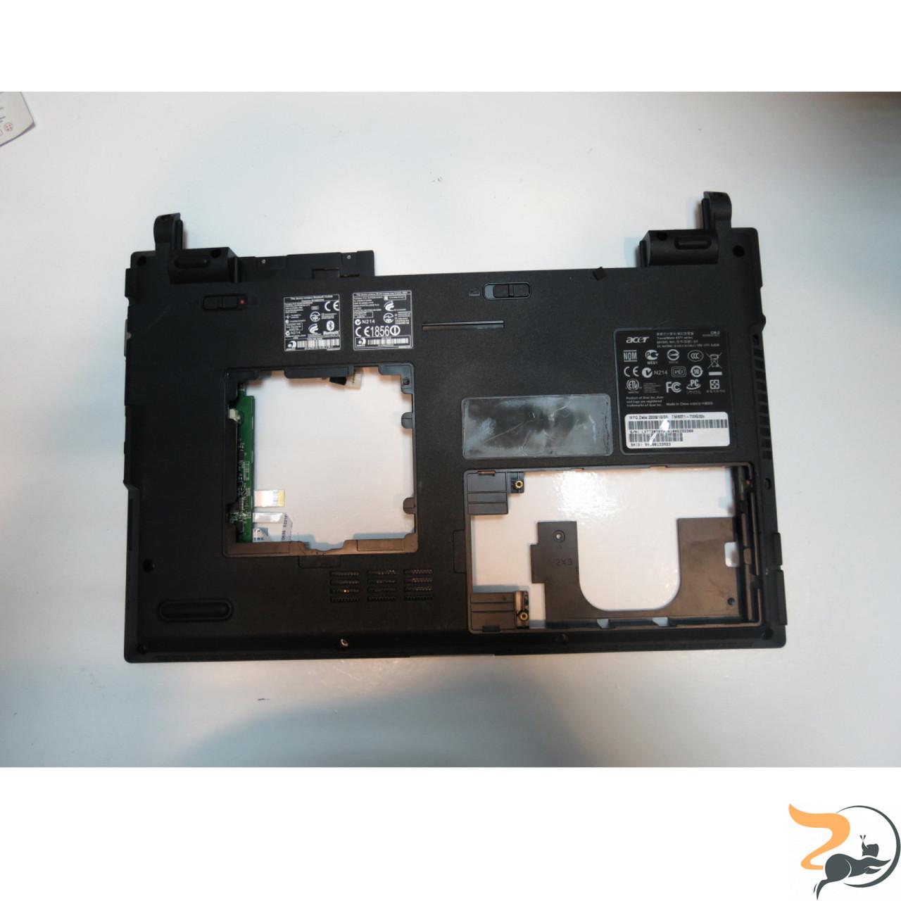 "Нижня частина корпуса для ноутбука Acer TravelMate 8371, LI1, B03759011131, 13.3"", Б/В."