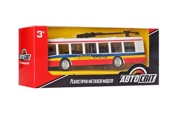 Тролейбус дитячий (Red), фото 2