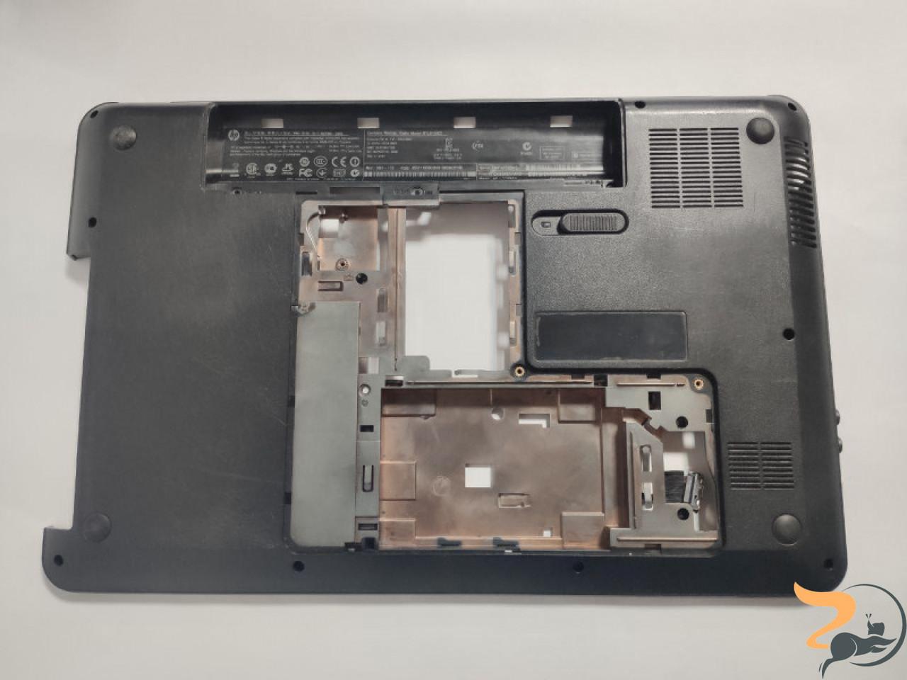 """Нижня частина корпуса для ноутбука HP Pavilion g6, g6-1125sw, 15.6"""", 641967-001, 33R15TP003, б/в. Два кріплення мають маленькі тріщинки (фото),"""