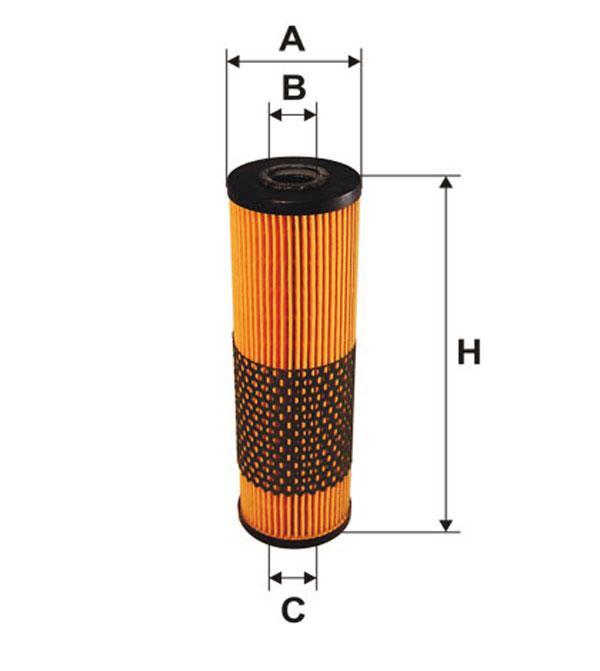 Фильтр масляный WL7059/591 (производство WIX-Filtron) (арт. WL7059), rqx1