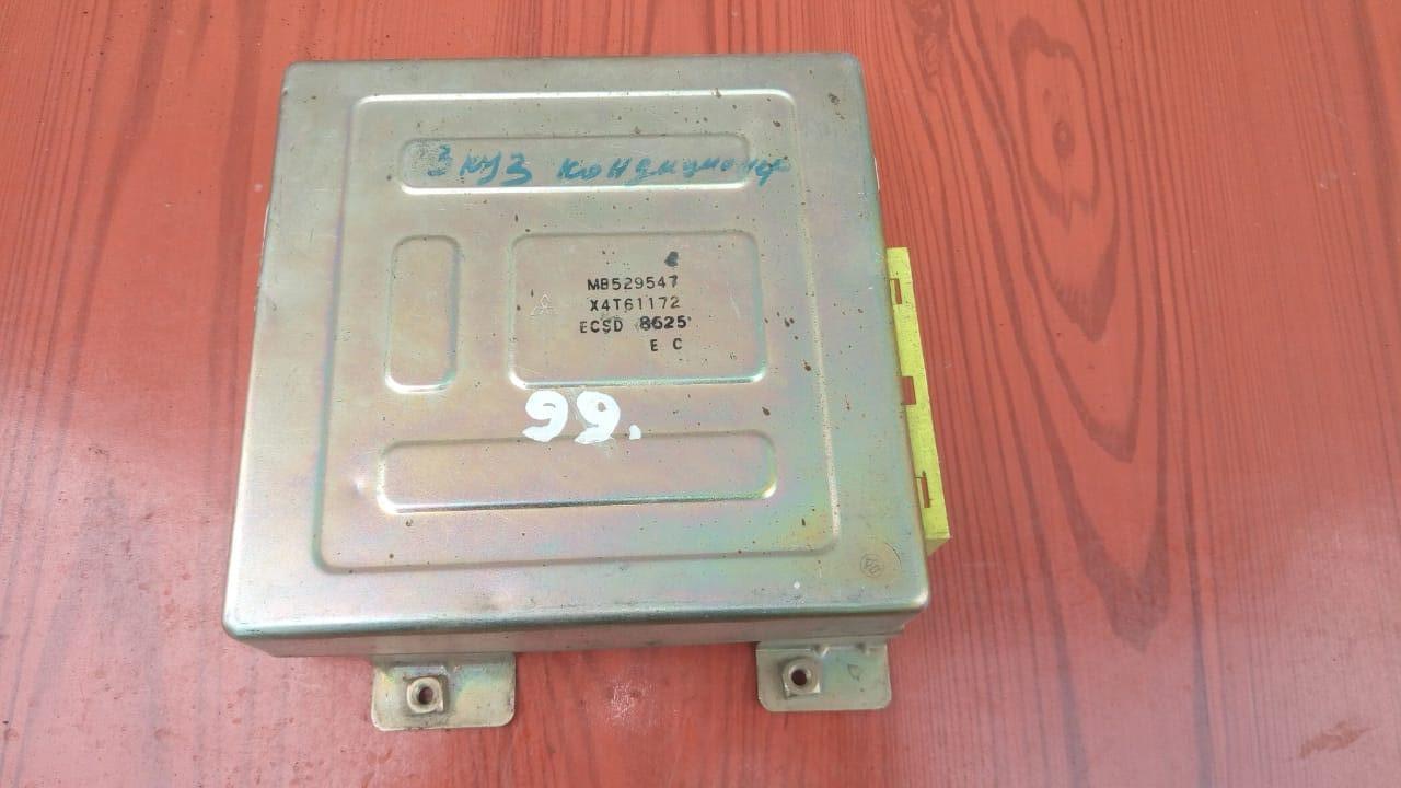 Блок управления (ЭБУ) двигателем MB529547, X4T61172, 57221 Galant 88-92r Mitsubishi