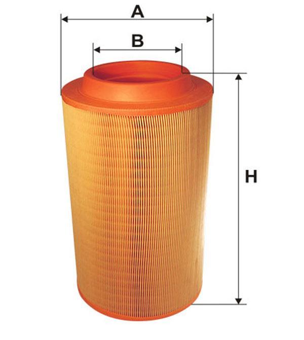 Фильтр воздушный 93241E/200/6 (производство WIX-Filtron) (арт. 93241E), rqb1