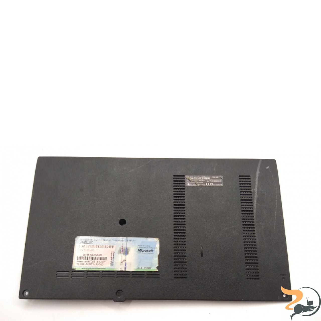 Сервісна кришка для ноутбука Asus PRO 61S, 13N0-BTA0601, Б/В. В хорошому стані, без пошкоджень. Є подряпини та потертості. Присутні сліди корозії.