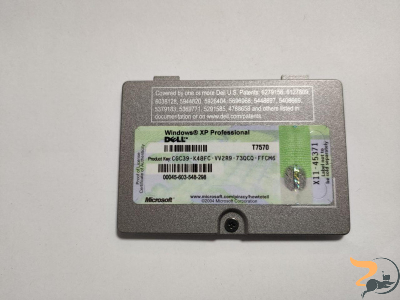 """Сервісна кришка для ноутбука Dell Latitude D610, 14.0"""", CN-0G4164, 3BJM5RDWI01, б/у, В хорошому стані, без пошкодженнь."""
