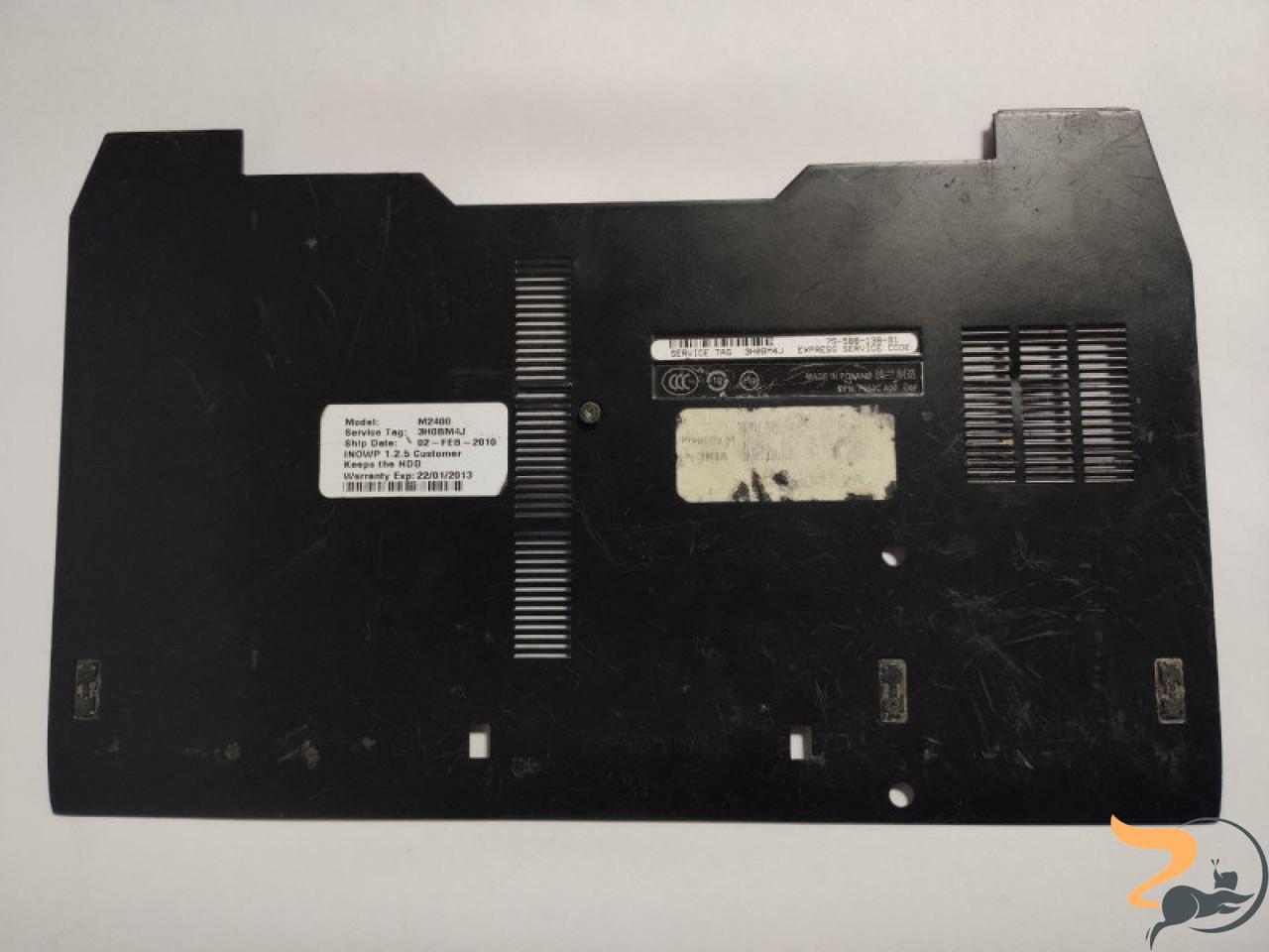 """Сервісна кришка для ноутбука Dell Latitude E6400, 14.0"""", AM03I000G00, CN-0P318H, б/в, має незначне пошкодження (фото)"""