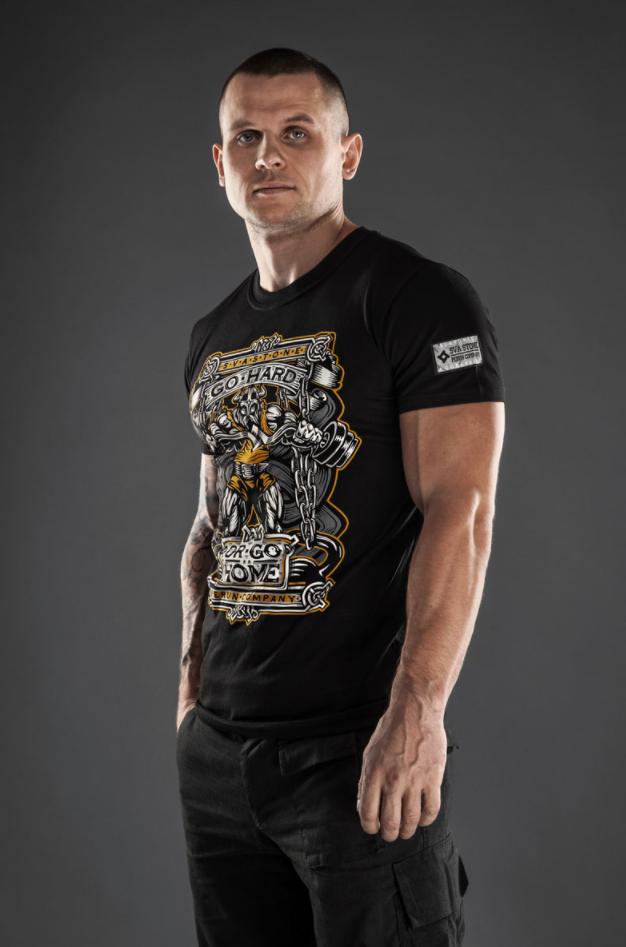 SvaStone футболка Go Hard черная