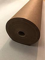 Крафт папір упаковочний рулон 84 см*80 метров, пл. 70 г/м2, коричневая оберточная марка Е Беларусь