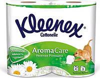 Kleenex Cottonelle Aroma Care туалетний папір ромашка 140 відривів 3 шару рулону 4