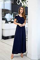 Платье выпускное длинное в пол вечернее красивое люрекс без р47укавов размер:42,44,46