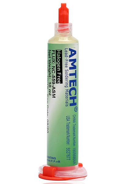 Флюс паяльный гель AMTECH NC-559-ASM слабоактивный