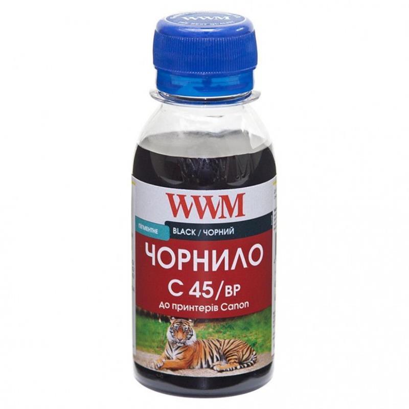 Чернила WWM Canon PG-440/PG-445/PGI-450Bk (Black Pigment) (C45/BP-2) 100г